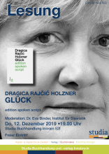 Lesung Dragica Rajcic Holzner