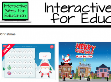 Screenshot Interactive for Education