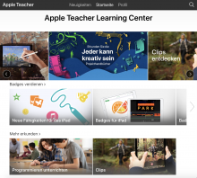 Screenshot: https://appleteacher.apple.com/